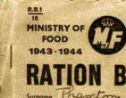 War Theme Ration Books